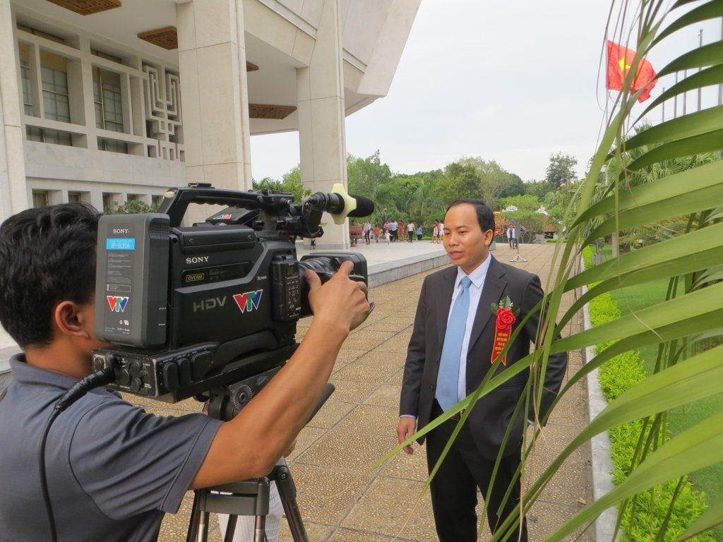 VTV phỏng vấn